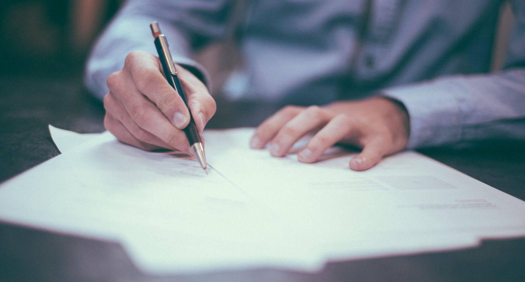 Dokument, der kunne være en hensigtserklæring