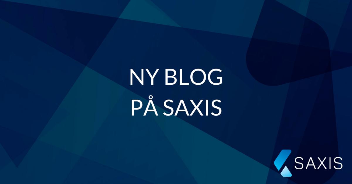 Ny blog