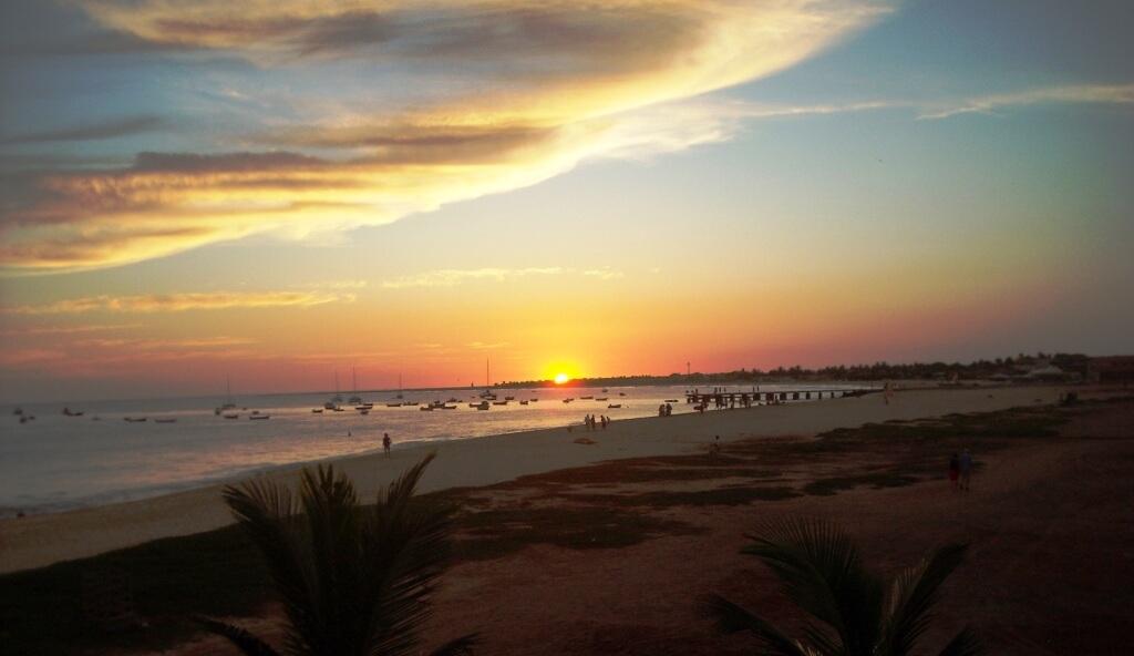 Sunset in Santa Maria by Steven Bock