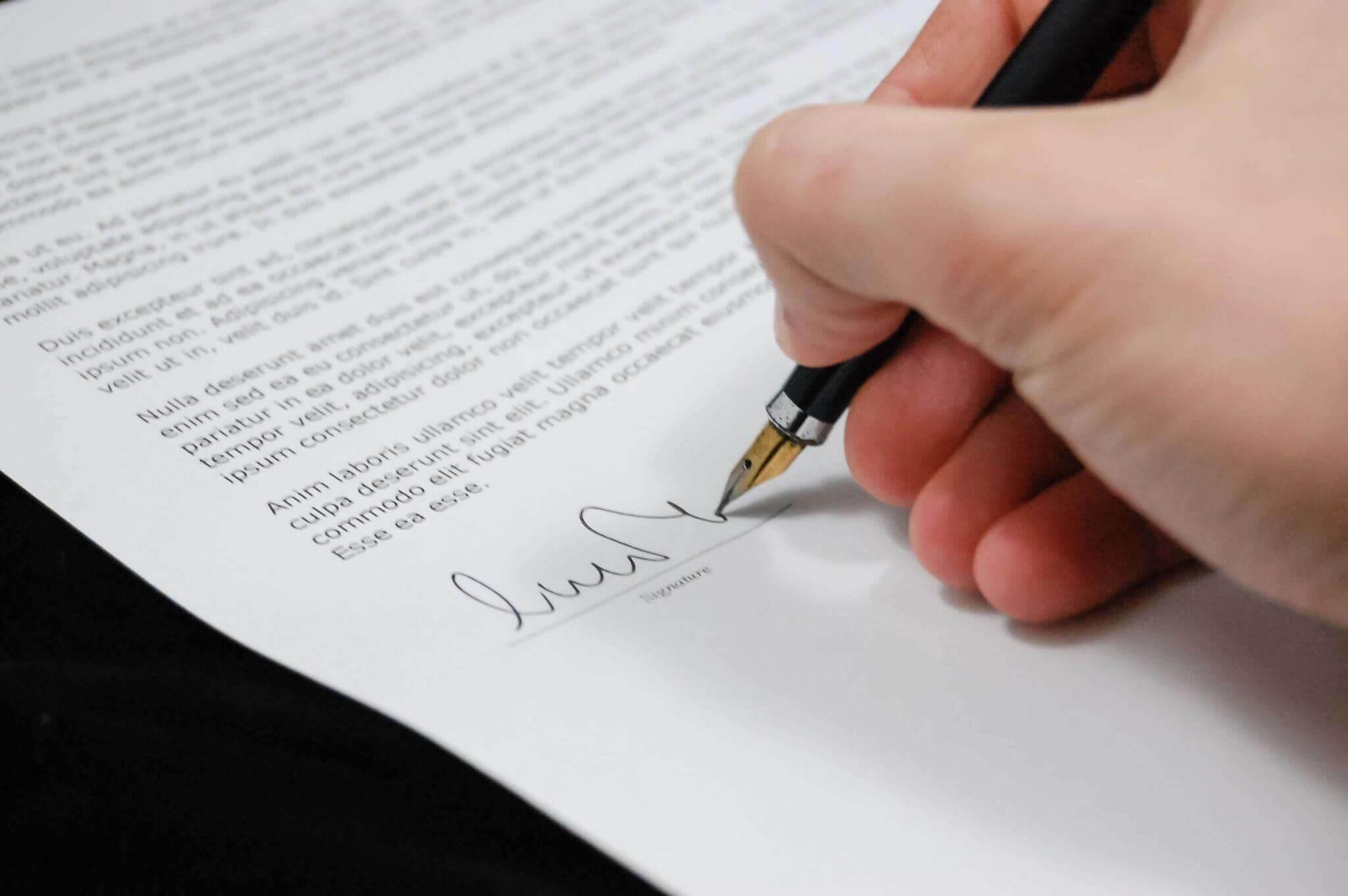 overdragelsesaftale