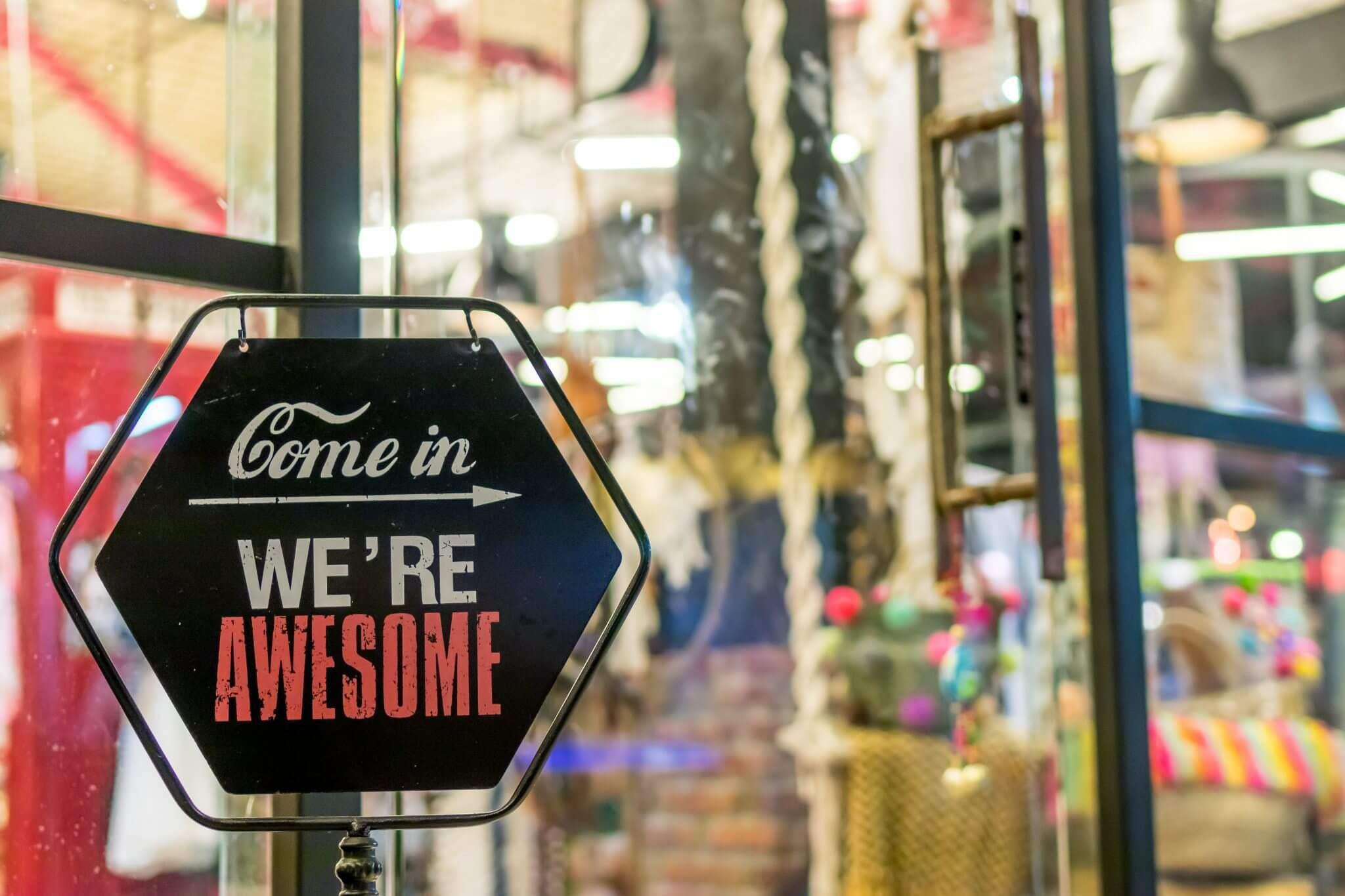 Køb butik, sådan finde du den helt rette