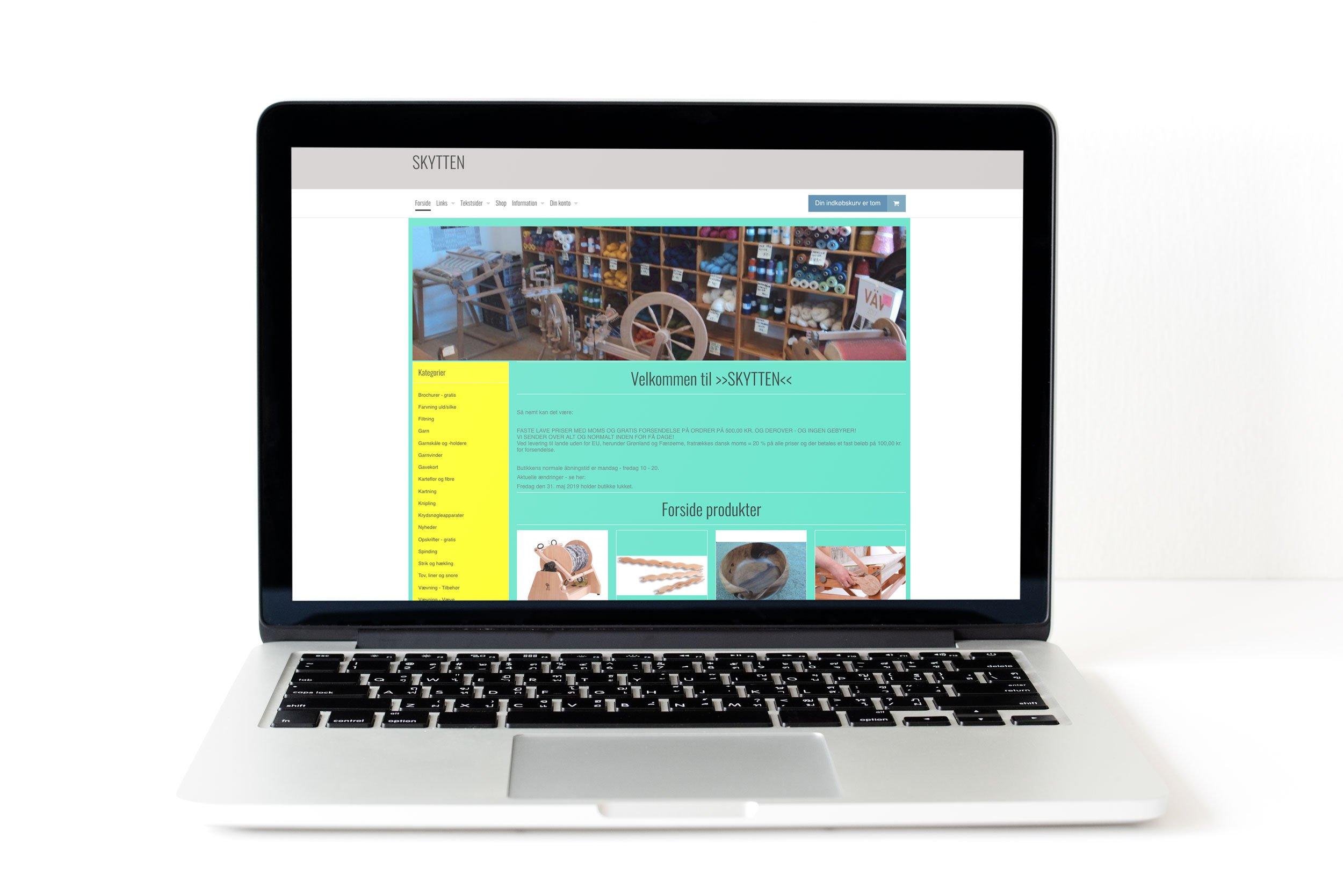 80271ba6b62 Webshop til salg med produkter indenfor væve og -tilbehør - Saxis ...