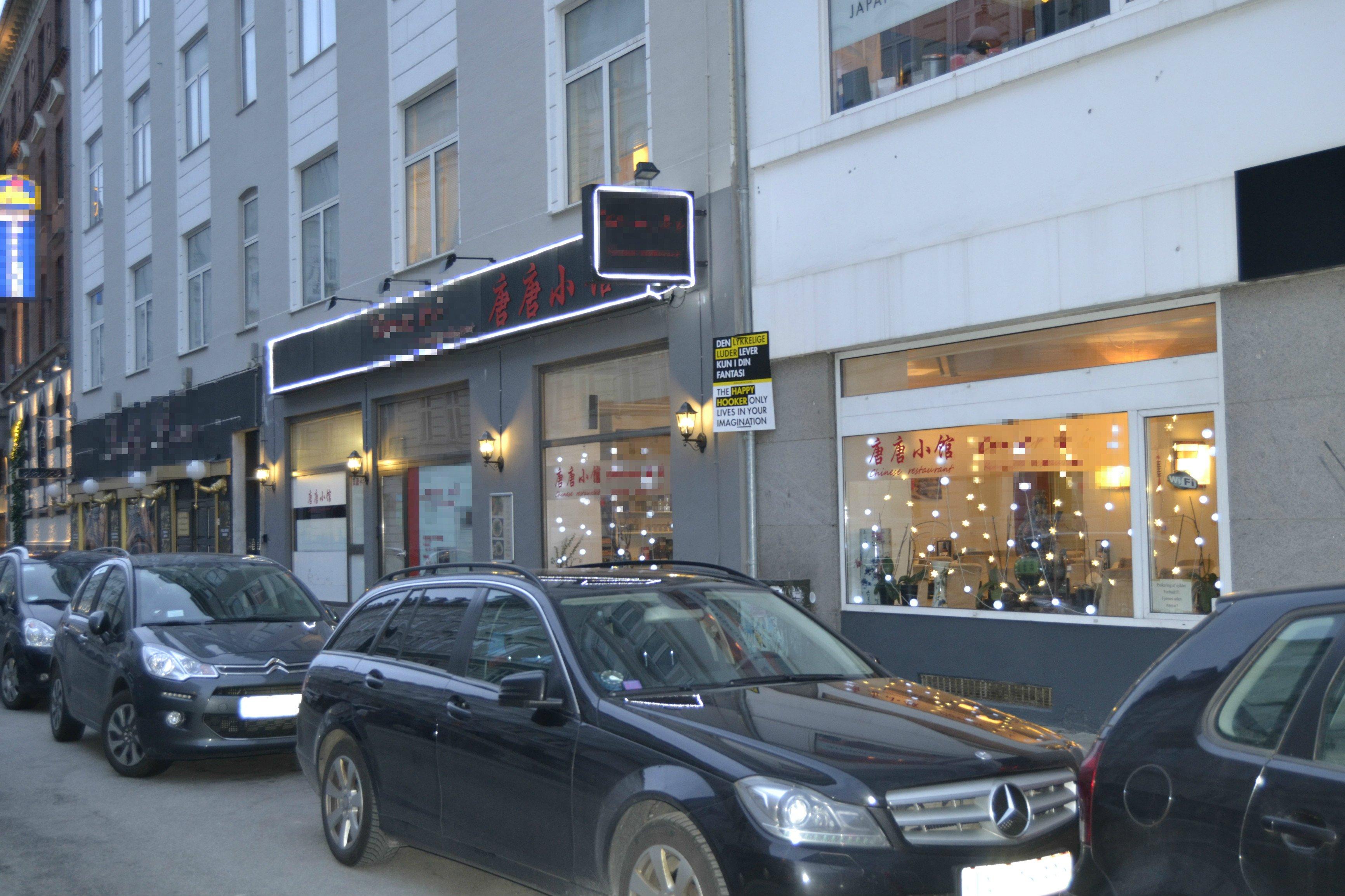 Restaurant beliggende 400 meter fra Københavns Hovedbanegård