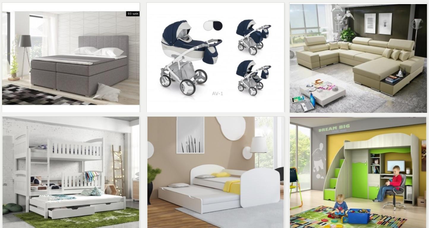 Webshop med dropshipping salg af senge, barnevogne og sofa'er - Omsætning 3.8 mio DKK Overskud ...