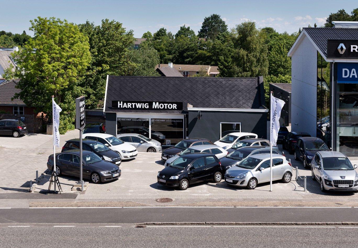 bilforretning til salg
